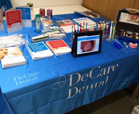 DeCare Dental Oral Health Display