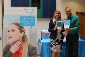 Etain Kett (Dental Health Foundation), David Casey (DeCare Dental)