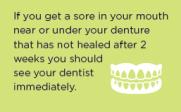 Denture brochure tip 2