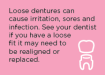 Denture brochure tip 3