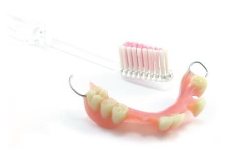 partial denture care instructions
