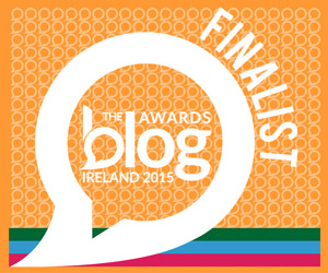 Blog Awards Ireland Finalist 2015